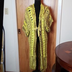 Free People Duster  size M/L